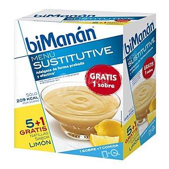 Bimanan Natillas de limón Caja 6 u