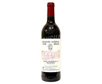 Valbuena Vino tinto gran reserva, bodegas Vega Sicilia con denominación de origen Ribera del Duero 75 cl