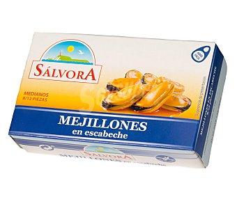 Salvora Mejillón en salsa escabeche 8/12 piezas 69 g