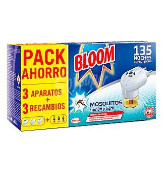 Bloom Insecticida APARATOS+3 recambios 1 unidad Pack 3