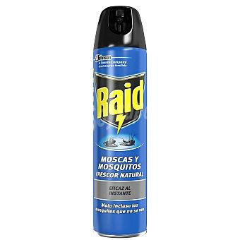 Raid Insecticida moscas mosquitos raid 600 cc