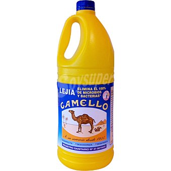 Camello Lejía normal amarilla Botella 2 l