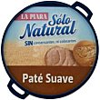 Paté suave natural Lata 75 g La Piara