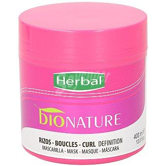 Herbal Bio natural mascarilla revitalizante rizos definidos Tarro 300 ml