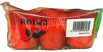 ROURA Velote rojo pequeño halloween  Paquete de 3 uds