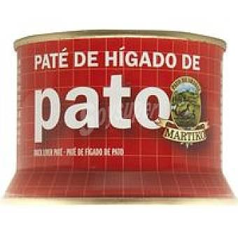 Martiko Paté de hígado de pato 75% Lata 130 g