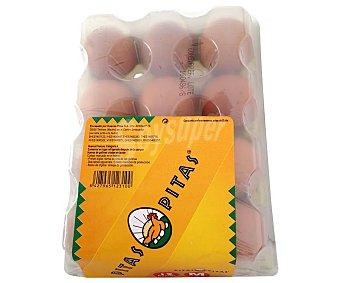 Pitas Huevos Clase M 12 unidades