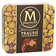 Helado praliné Pack 3 x 90 ml Magnum Frigo