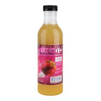 Carrefour Zumo de manzana rosa 75 cl
