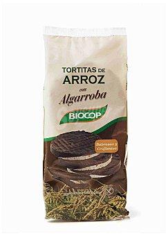 BIOCOP Tortitas de arroz con algarroba ecológicas Envase 100 g