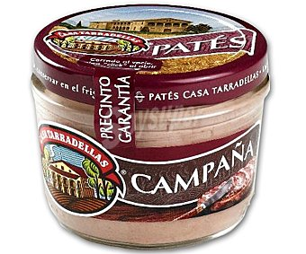 Casa Tarradellas Paté de campaña Tarro 125 g