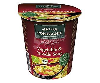 NATUR COMPAGNIE Sopa de noodle y vegetales 55 gramos