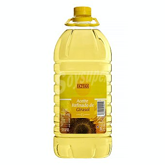 Hacendado Aceite girasol tapon amarillo Garrafa 5 l