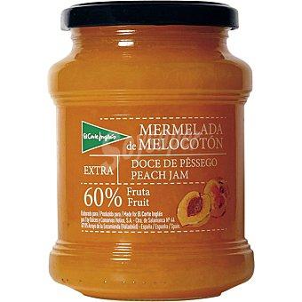 EL CORTE INGLES Mermelada de melocotón 60% fruta Tarro de 410 g