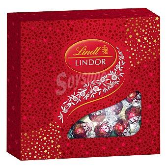 Lindt-Lindor Bombón leche rubi 212,5 g