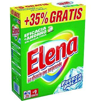 Elena Detergente en polvo Caja 35 lavados
