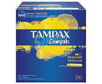 Tampax Tampón compak regular Caja 20 uds