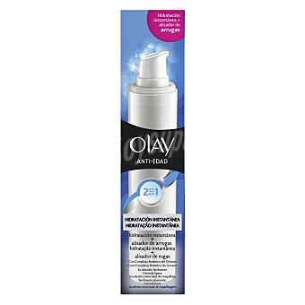 Olay Crema anti-edad 2 en 1 hidratación instantánea + alisador instantáneo de arrugas Dosificador 50 mililitros