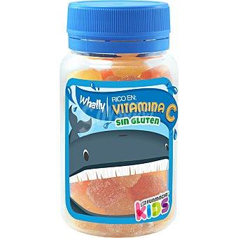 Funmacia Kids Whally caramelos de goma ricos en vitamina C sin gluten bote 85 g