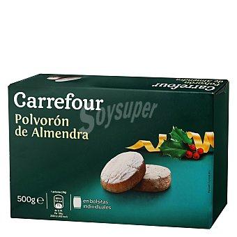 Carrefour Polvorón de almendra 500 g