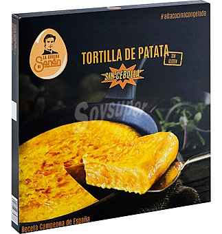 LA COCINA DE SENÉN Tortilla patata sin cebolla sin gluten 360 g
