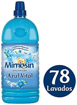 Mimosín Suavizante concentrado azul vital 78 lavados