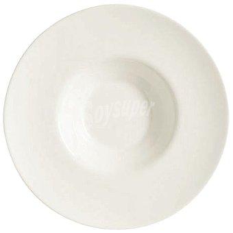 LUMINARC  Plato para risotto redondo de zenix en color blanco 1 unidad