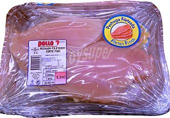 Sada Pollo pechuga entera frescas sin hueso Pack 2 x 400 g - 800 g peso aprox.