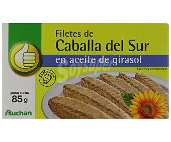 Productos Económicos Alcampo Caballa en aceite de girasol 65 gramos