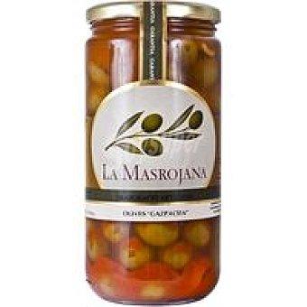La Masrojana Aceitunas gazpacha Frasco 450 g