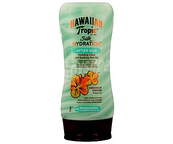 Hawaiian Tropic After sun de coco y payaya con aloe Silk Hydration 180 ml