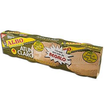 Albo Atún claro en aceite oliva virgen pack 3 latas 67 g neto escurrido Pack 3 latas 67 g