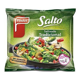FINDUS SALTO ORIGINAL Salteado tradicional de verduras  bolsa 500 g