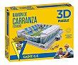 Puzzle 3D Estadio Ramón De Carranza de 100 piezas, FORCE. Eleven Force