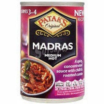 Patak's Salsa madras Lata 283 g