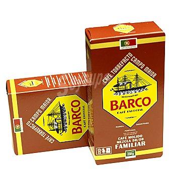 Barco Café molido mezcla 50-50 paquete 250 g