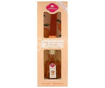 Cristalinas Ambientador de varillas con aroma azahar y mandarina (armonía) 45 mililitros