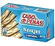 Navajas al natural Lata de 60 g Cabo de Peñas