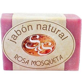 S&S Pastilla de jabón natural de Rosa Mosqueta 100 g