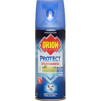 ORION Protect Insecticida volador Efecto Barrera eficaz con las ventanas abiertas spray 400 ml Spray 400 ml
