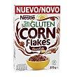 Cereales corn flakes con chocolate sin gluten Caja 375 g Nestlé
