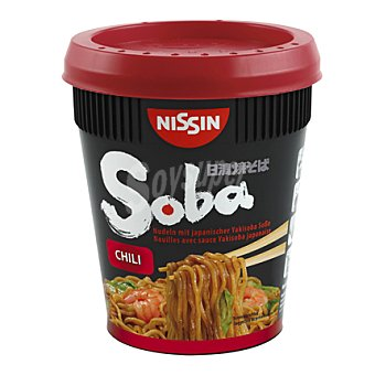NISSIN Pasta chili Soba cup 92 g