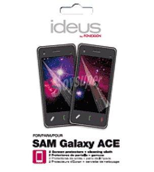 Ideus 2 unidadesprotector de pantalla para samsung galaxy ace ideus 2 unidades