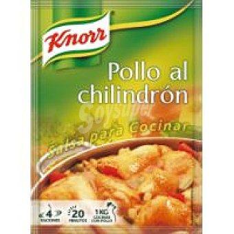Knorr Salsa deshidratada de pollo al chilindrón Sobre 52 g