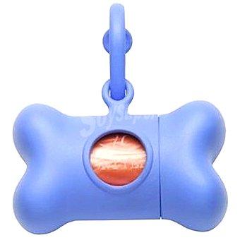 BON TON NANO CLASSIC Dispensador de bolsas para recoger excrementos con rollo de 10 bolsas colores surtidos Paquete 1 unidad