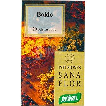 SANTIVERI SANAFLOR Infusión de plantas medicinales boldo Envase 30 g