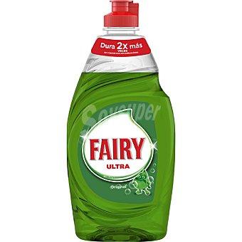 Fairy Ultra lavavajillas a mano concentrado regular Botella 350 ml
