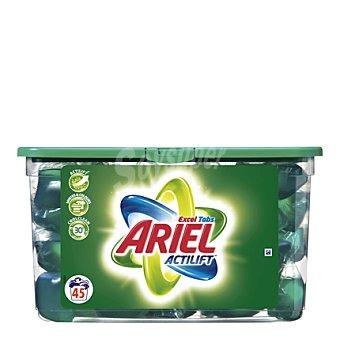 Ariel Detergente lavadora Excel Tabs capsulas 47 ud
