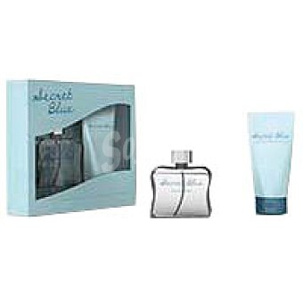 Eroski Pack secret blue Eau de Toilette 100ml +loción CorP150ml 100ml