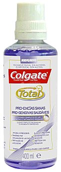 Colgate Total Enjuague Total Pro-encías Sanas 400 ml